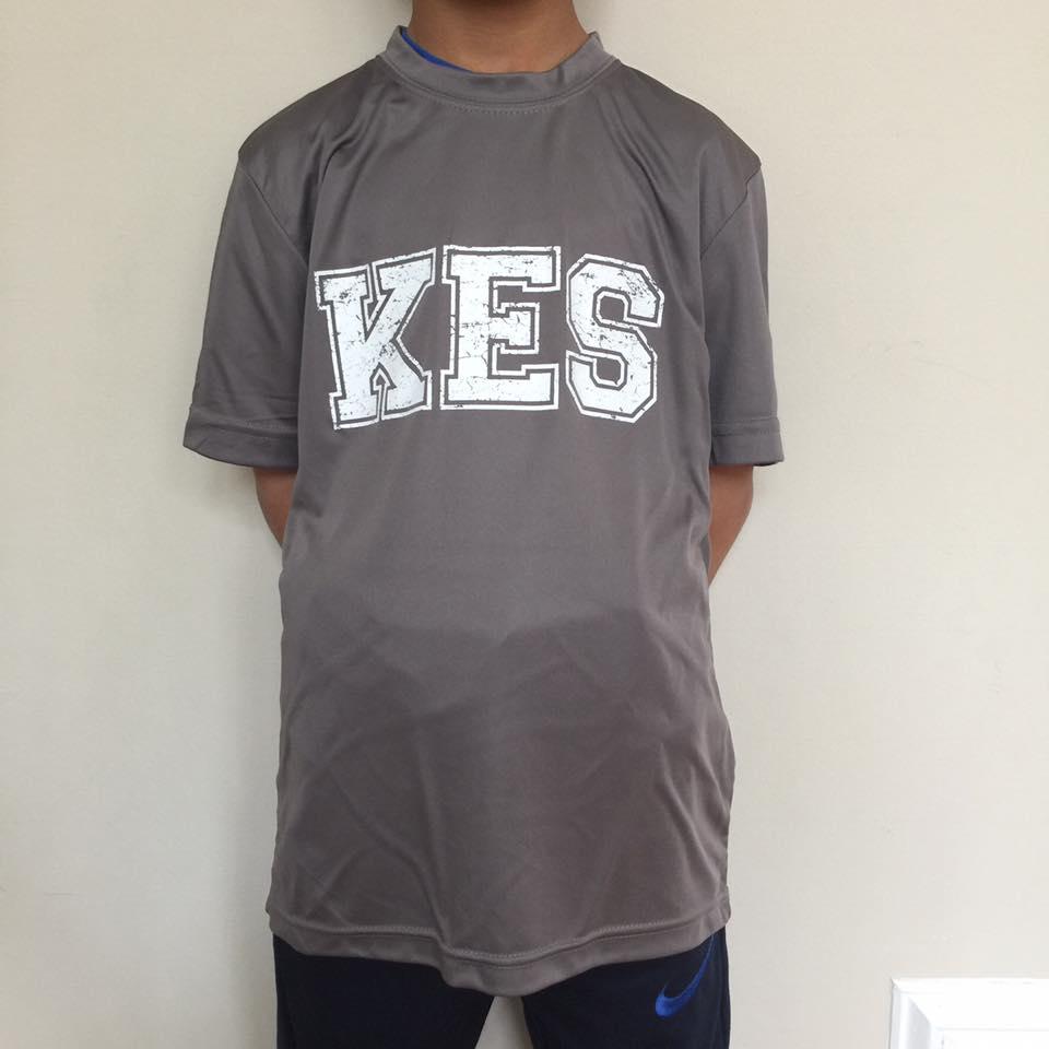 Gray Short Sleeve KES shirt